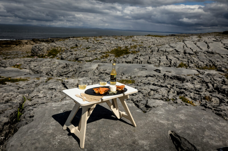Burren Picnic table